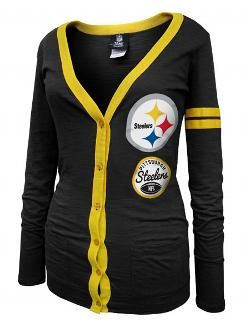 f49a3650c Pittsburgh Steelers Women's Cardigan T-Shirt - Official Online Store ...