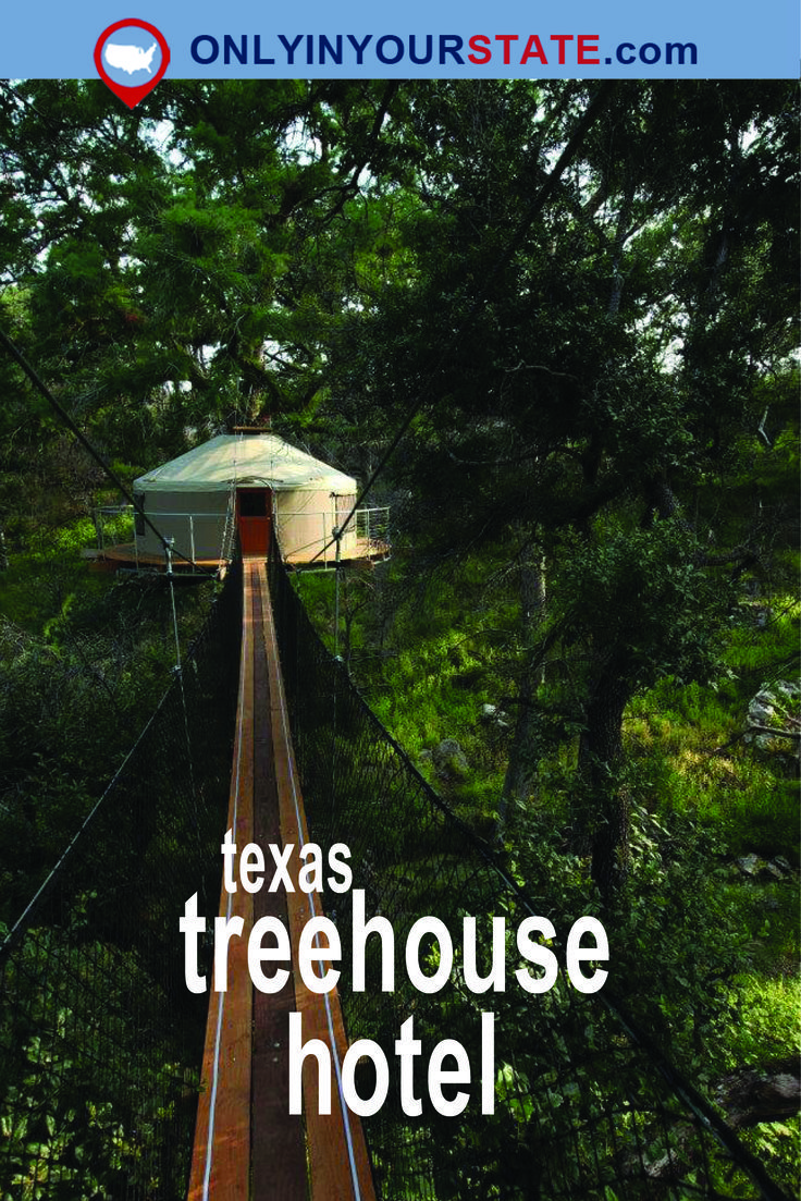 Sleep Among Trees In The Forest In This Charming Texas Treehouse