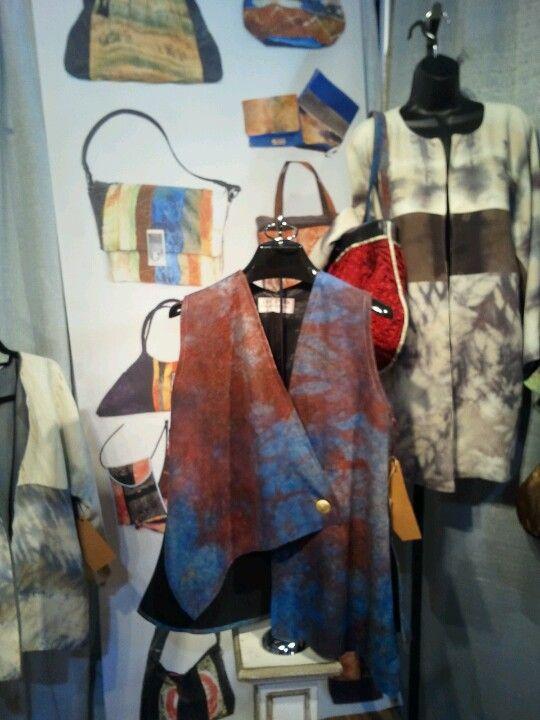 My Silk shiboris at buyers market phila