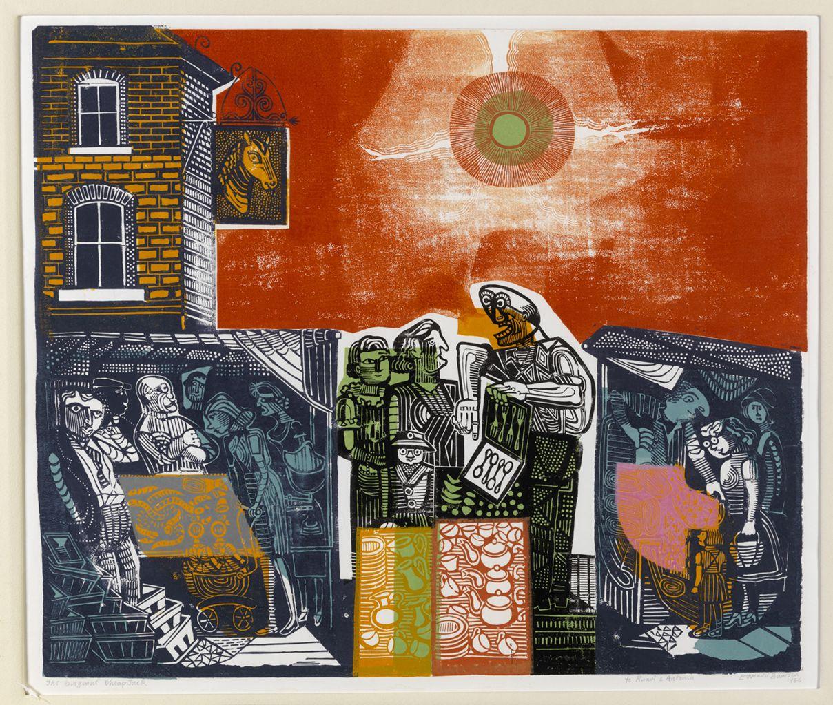 Edward bawden the original cheap jack art art prints