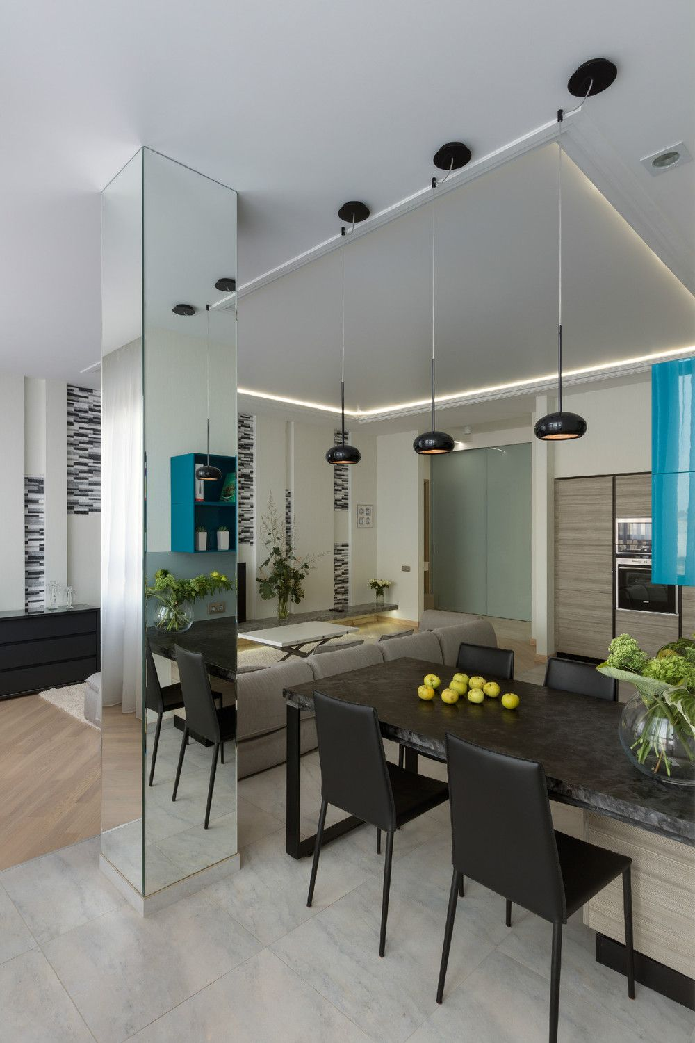 Funky And Family Friendly Apartment Interior Decorating: bespoke ...