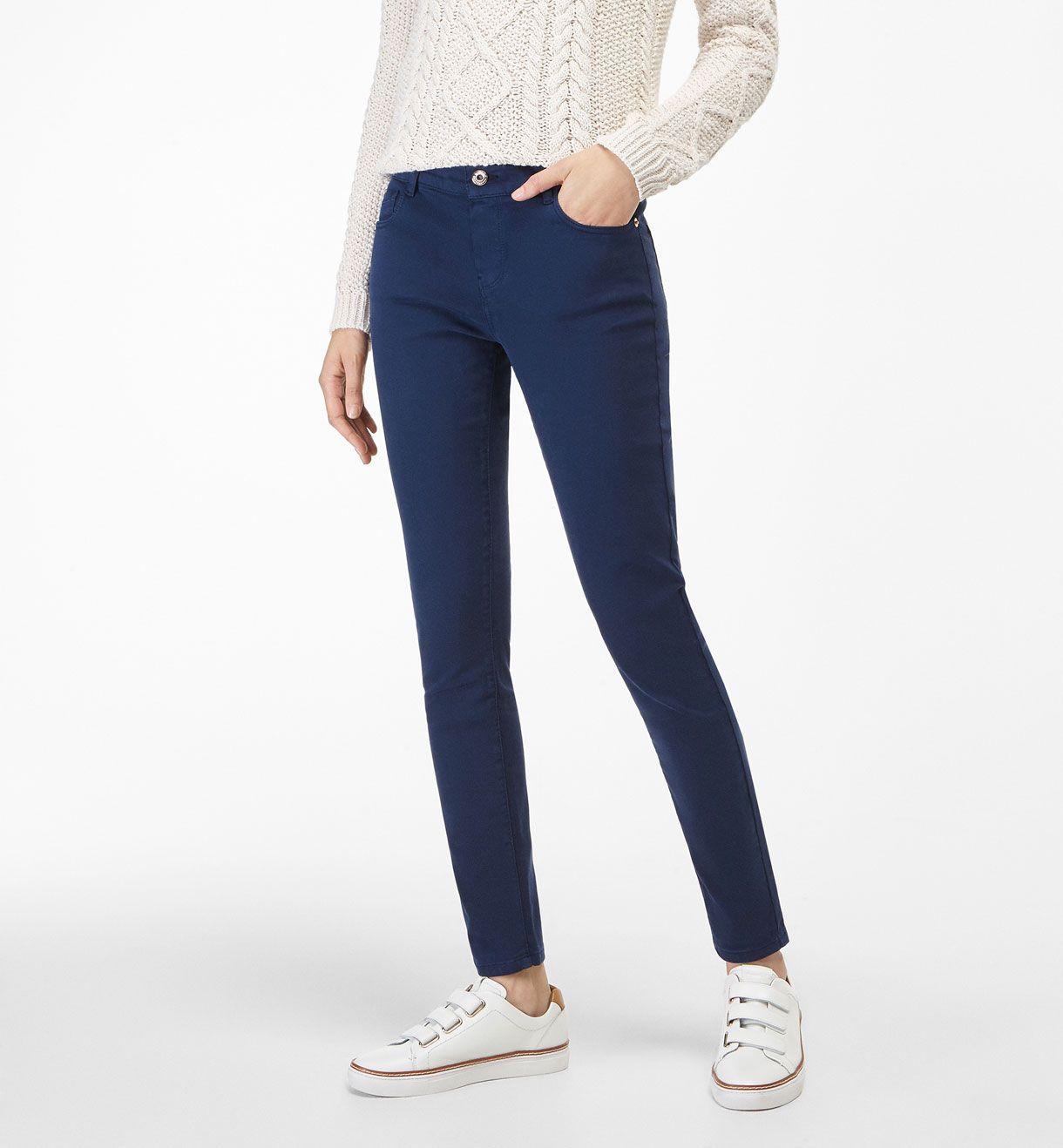 SATIN TROUSERS - View all - Trousers - WOMEN - Ireland - Massimo Dutti