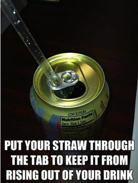 Keeps the straw in place.