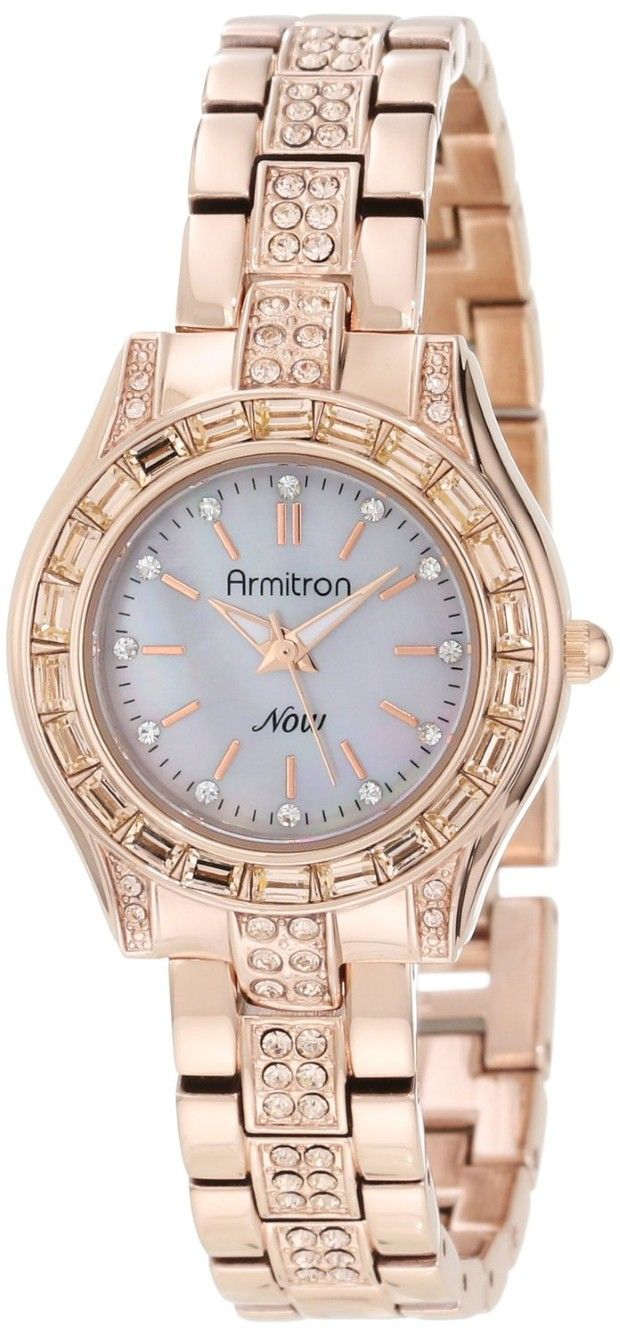 Womenus watches best crystal watches for women armitron womenus