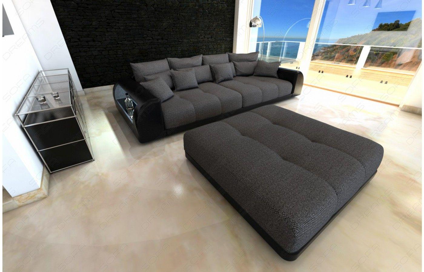 ecksofa mit led beleuchtung free kostenlose lieferung w. Black Bedroom Furniture Sets. Home Design Ideas