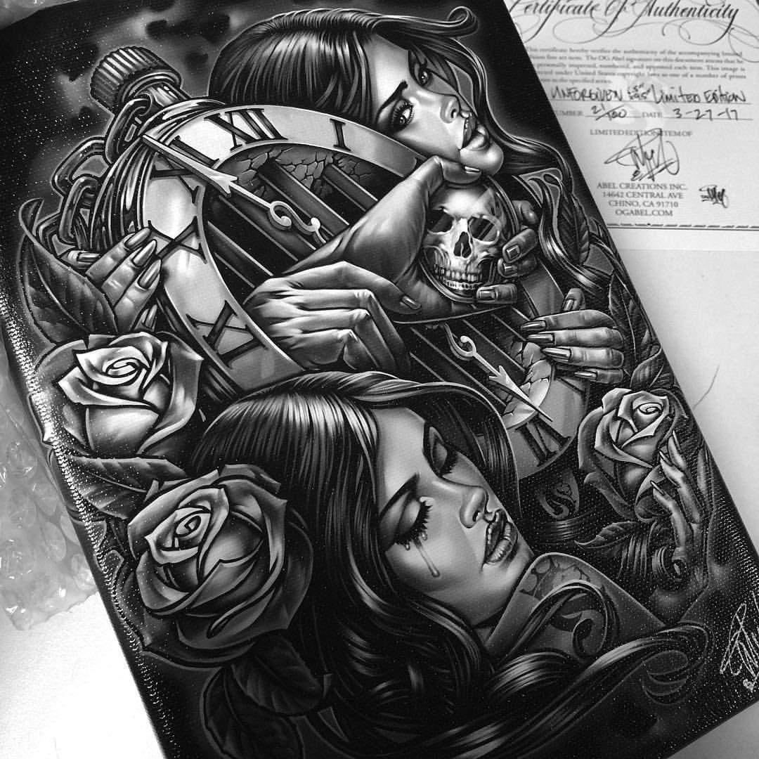 limited edition of 💯 canvas print. ogabel