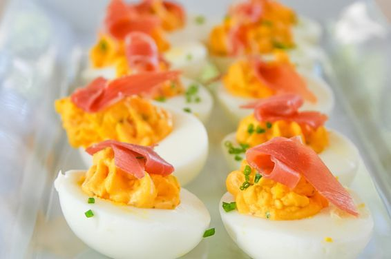 Spicy Deviled Eggs, a recipe on Food52