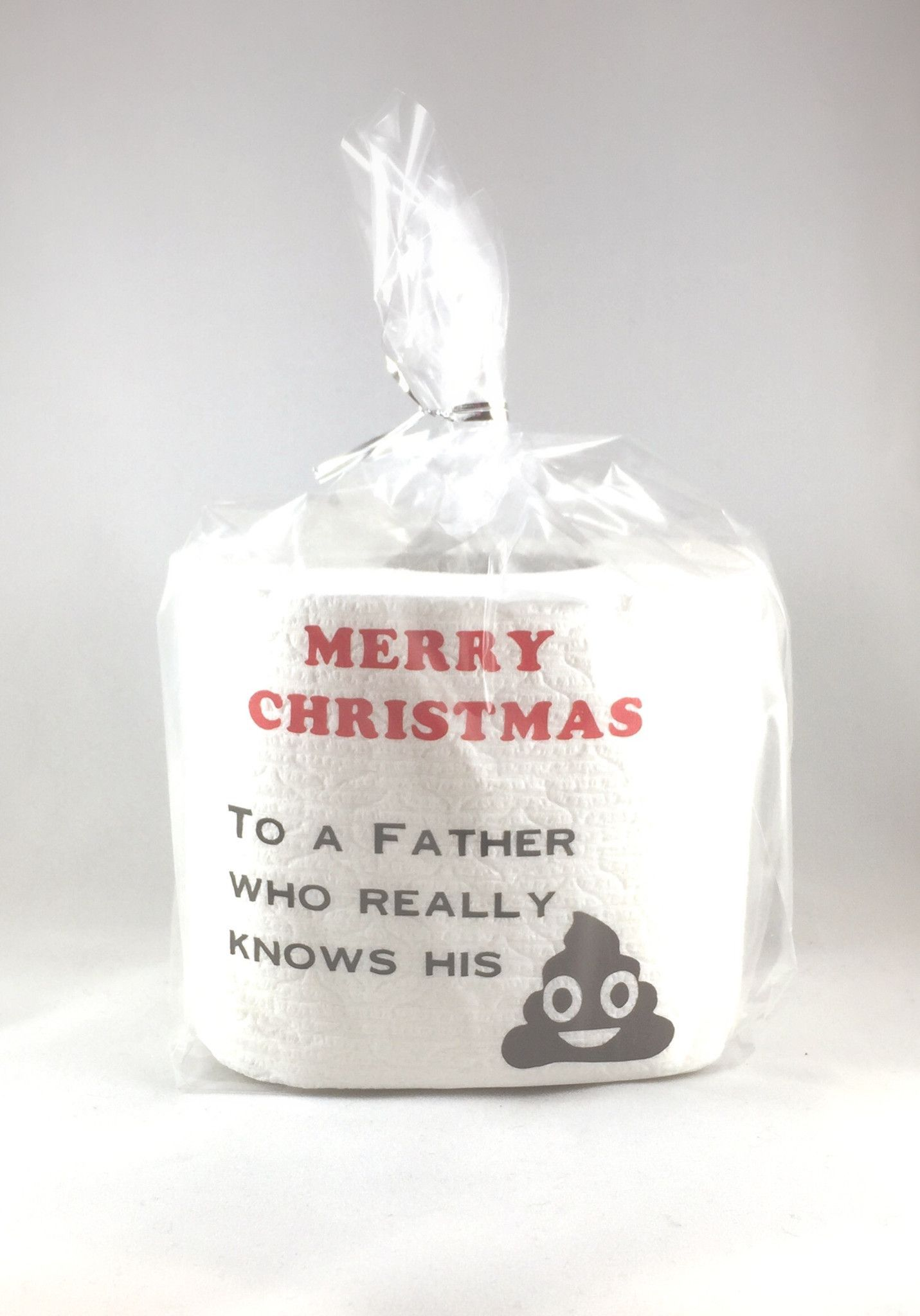 Gifts for Dad that won't disappoint. Christmas toilet paper makes a great white elephant gift or secret Santa gift! These are also great hostess gifts for any Holiday parties you may be attending. Be