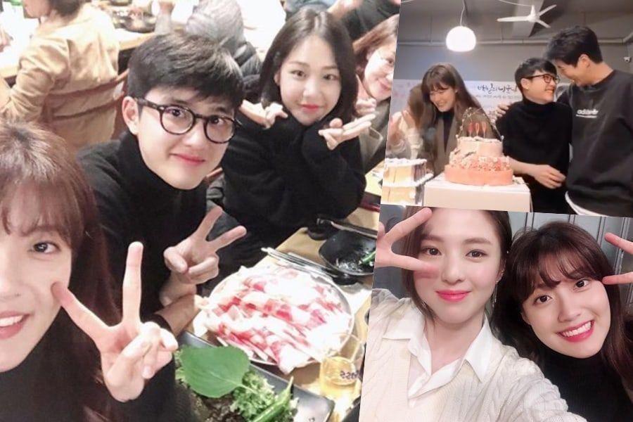 On November 1 Nam Ji Hyun Shared Photos That She Took With