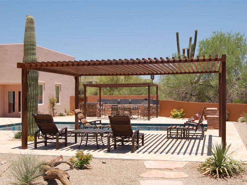 Az pool house casita design pergola design pictures for Casita plans for backyard