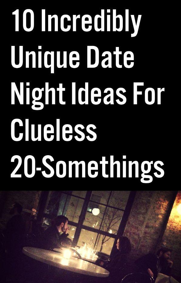 Fun original date ideas