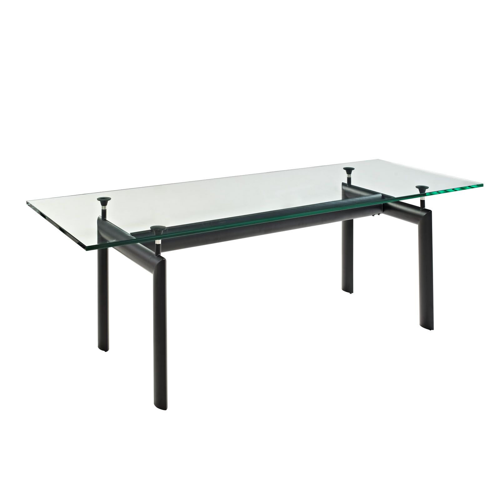 Le Corbusier Couchtisch Le Corbusier Style Lc6 Dining Glass Table (with Images ...
