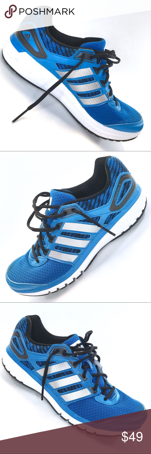 cera eslogan dinastía  adidas ADIPRENE + duramo 6 run strong Blue MENS 12   Shoes sneakers adidas,  Adidas, Blue adidas