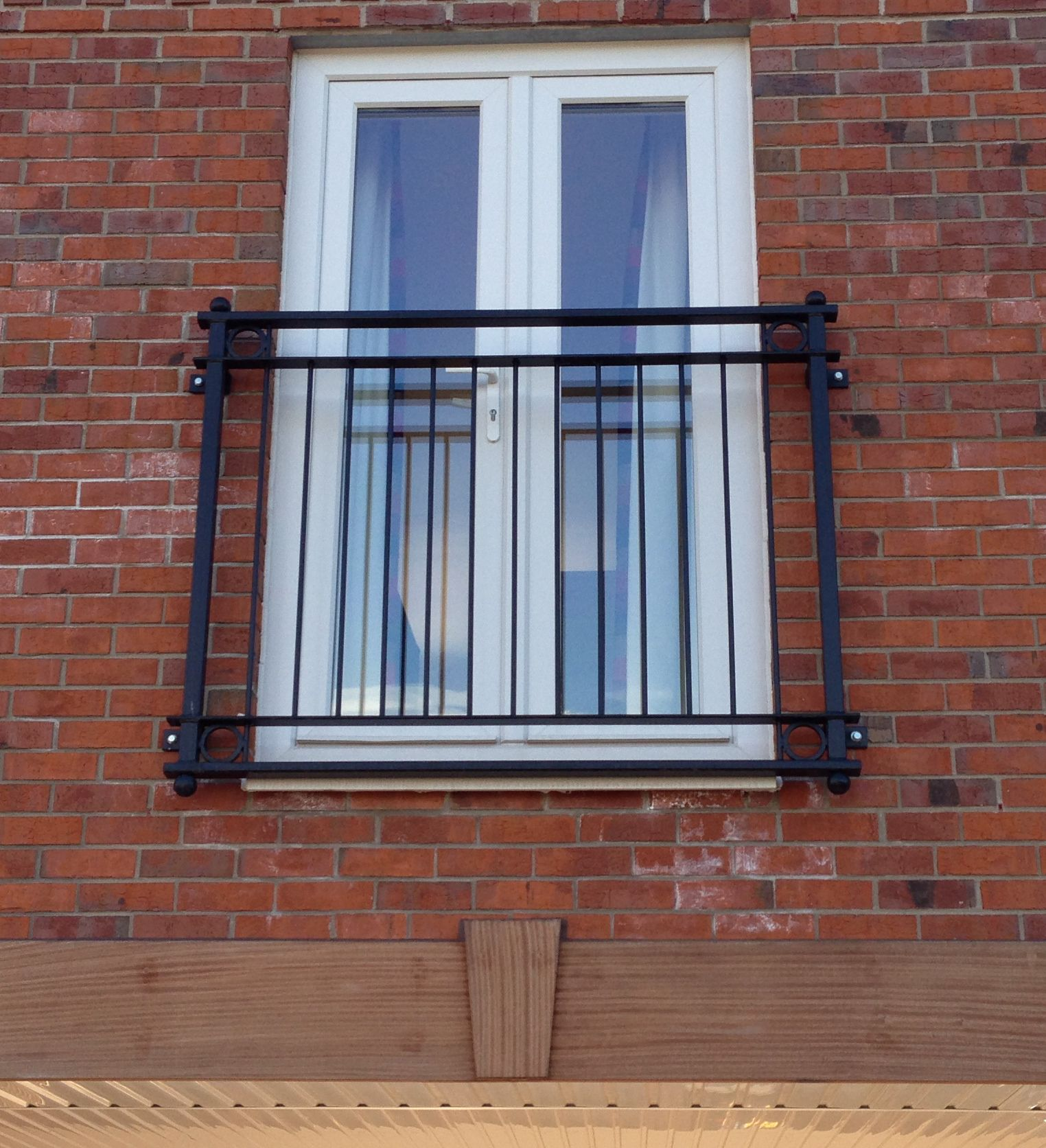 Juliet Balcony Design Supplied And Installed In Castle