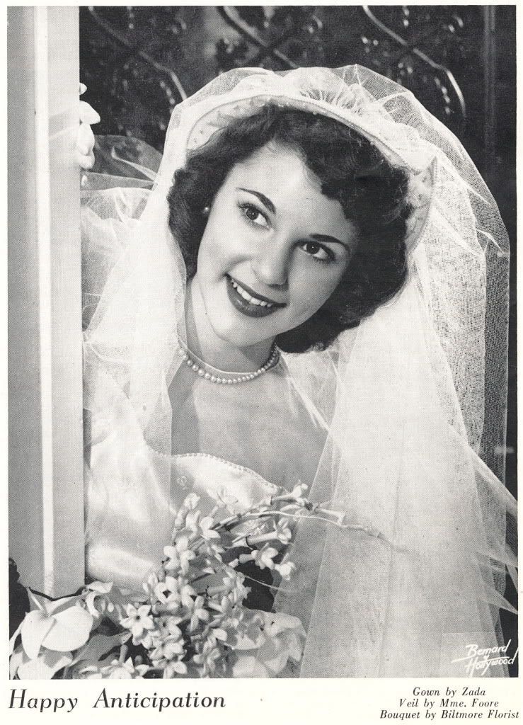 portrait wedding dress 1950 - Google Search | wedding vintage ...