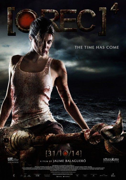 Rec 4 Apocalypse Aka Rec 4 Apocalipsis Movie Poster Cartel 3 Apocalypse Movies Best Horror Movies Upcoming Horror Movies