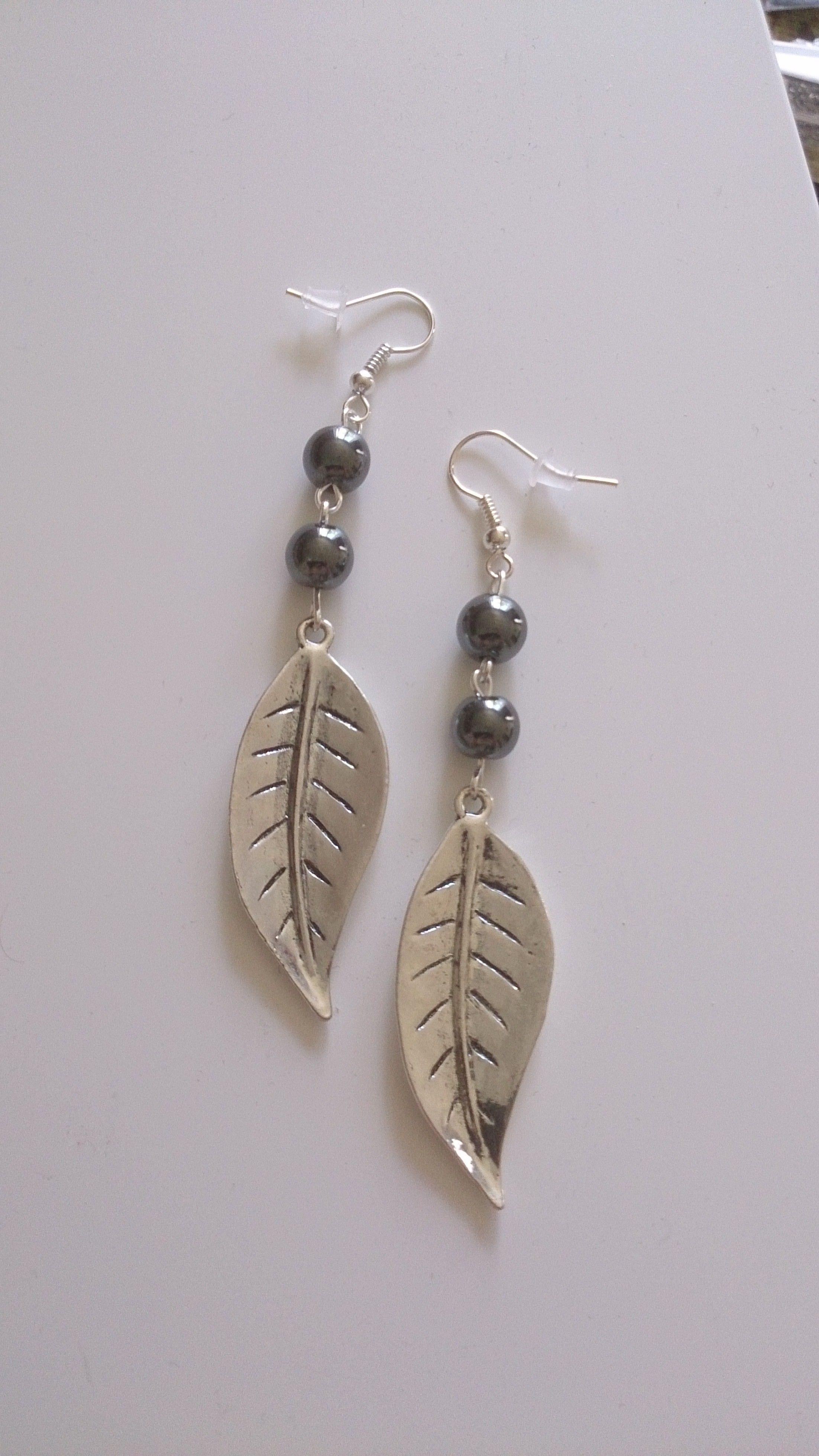 Boucles d 39 oreilles jewelry ideas pinterest oreilles boucles et bijou - Faire des bijoux ...