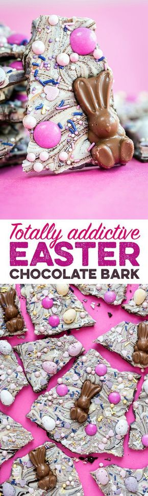 This Easter Chocolate Bark Is the Most Addictive Treat You Will Ever Make!