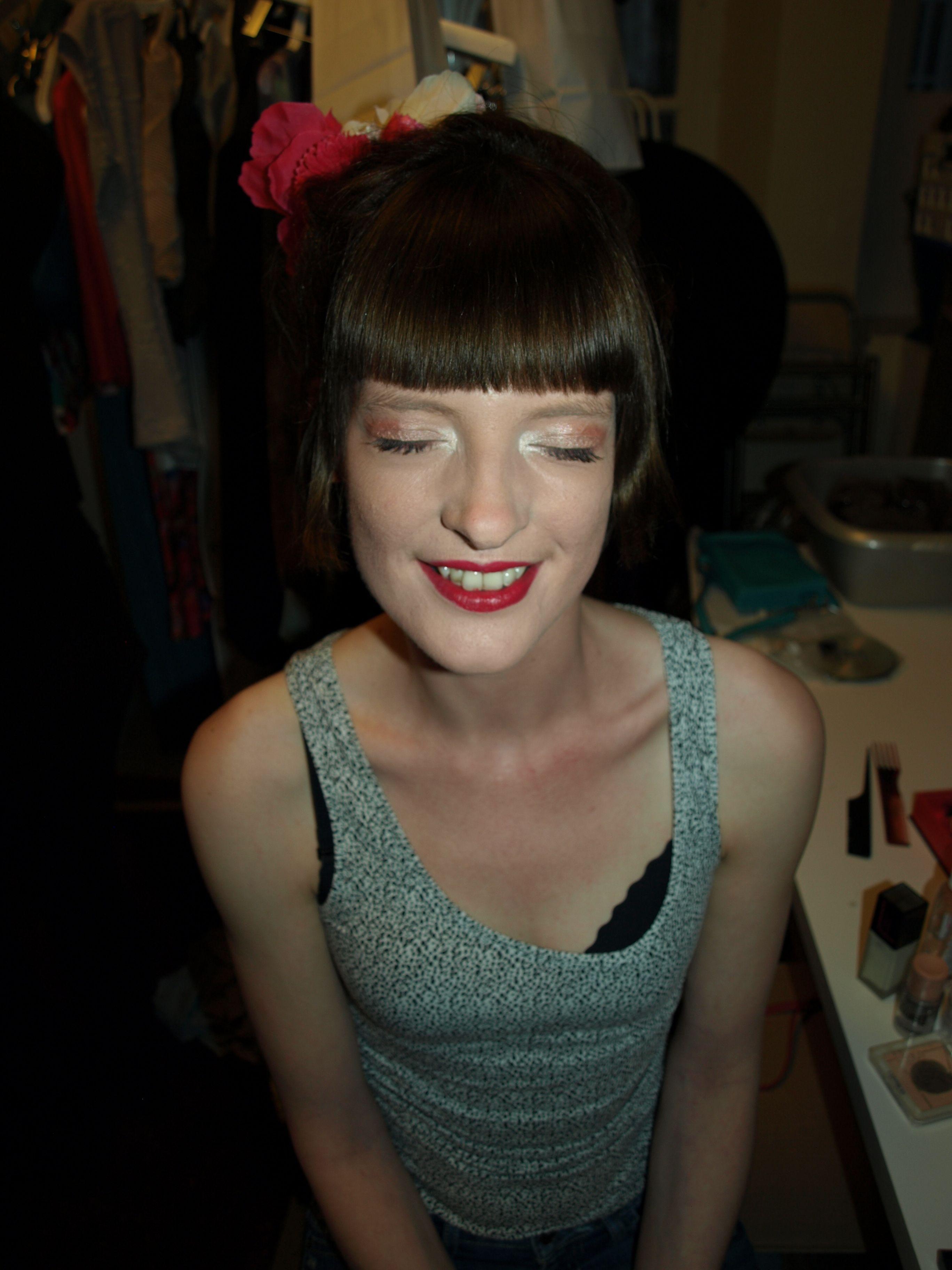 Styliste: Marie Schweisthal Modèles: Alexandra Dimauro, Lydwine Habay et Julie Woitrin Make-up/Hair/Photo: Celine Paul  Boutique: Cap sur l'Essentiel