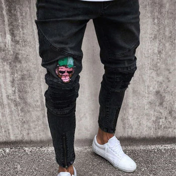 Jeans Kompritas Black Jeans Men Black Trousers Men Men Casual