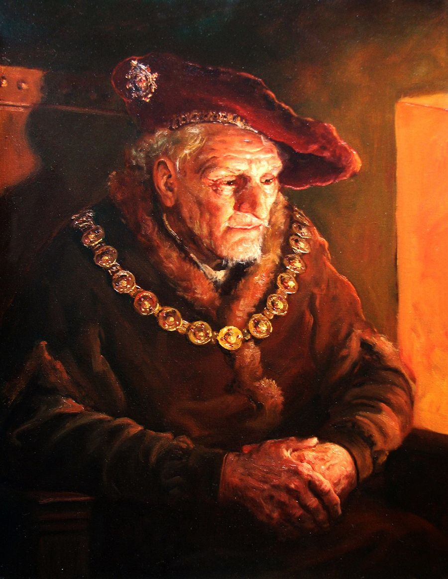 Shishkin Andrey :  Meditation at the fire
