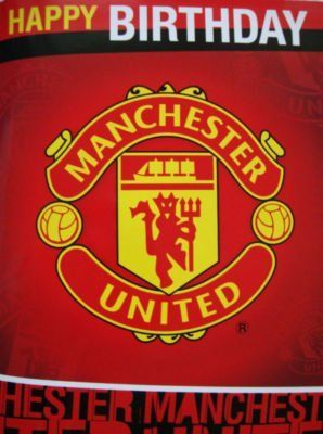 Is It Art Manchester United Club Crest Birthday Sound Card By Danilo 8 43 A Great Manchester United Home Kit Manchester Logo Manchester United Old Trafford