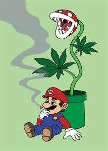 Exaggerate. Cartoon characters smoking weed abstract thinking