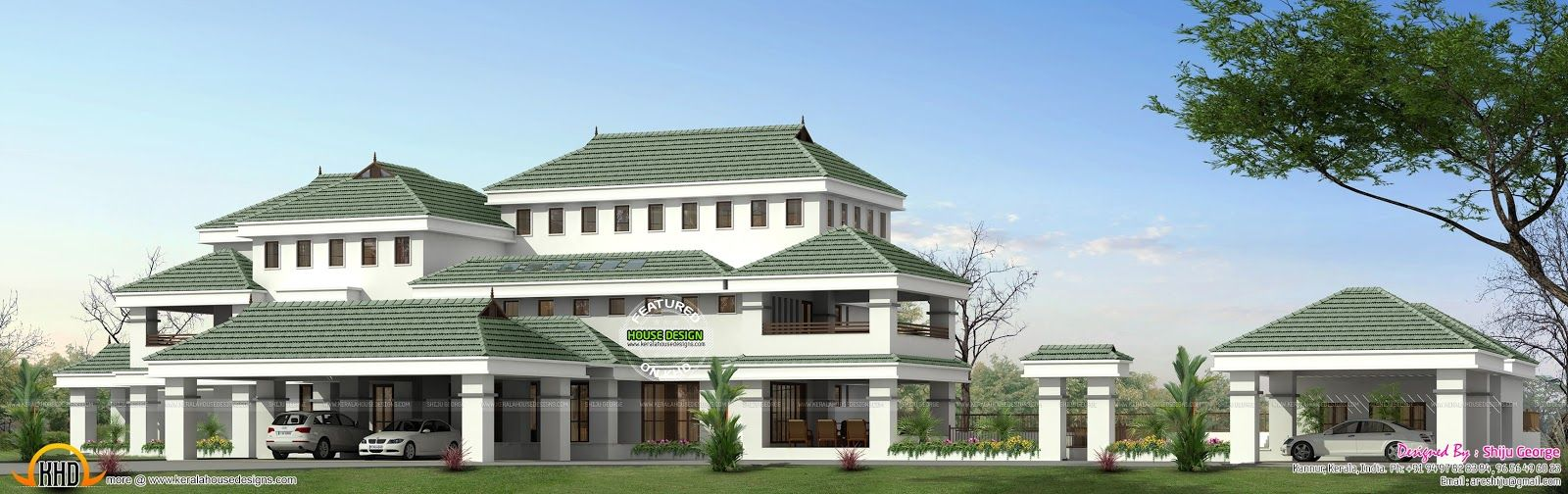 House plan kerala home design and floor plans facilities details ground