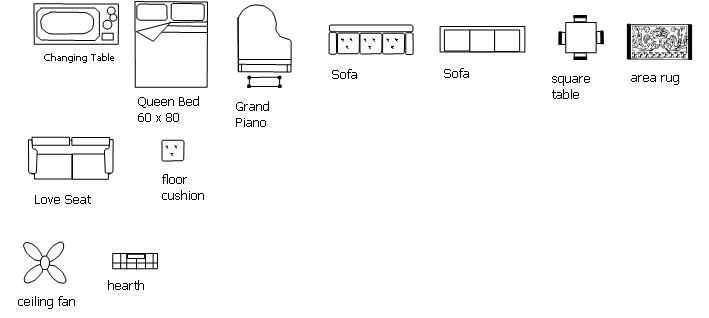 Printable Furniture Templates For Floor Plans