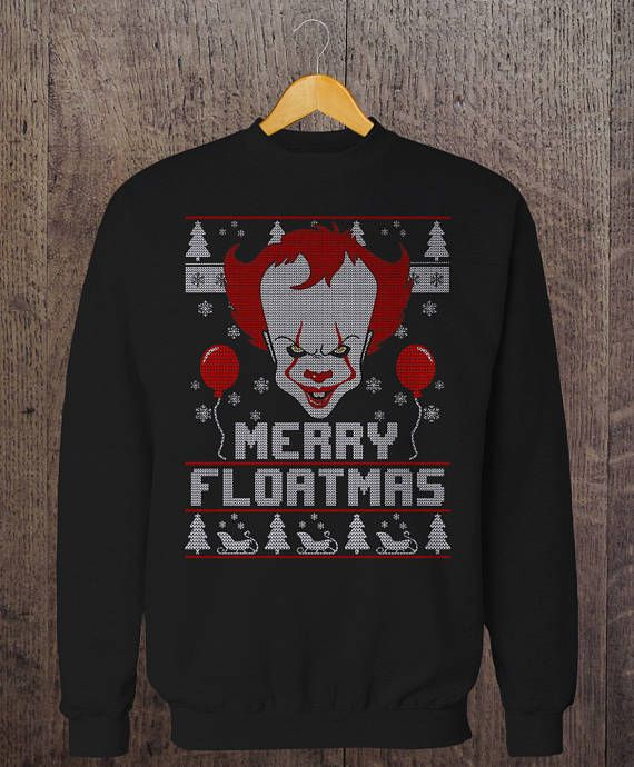 Merry Floatmas Pennywise The Clown It Ugly Christmas Sweater In 2019