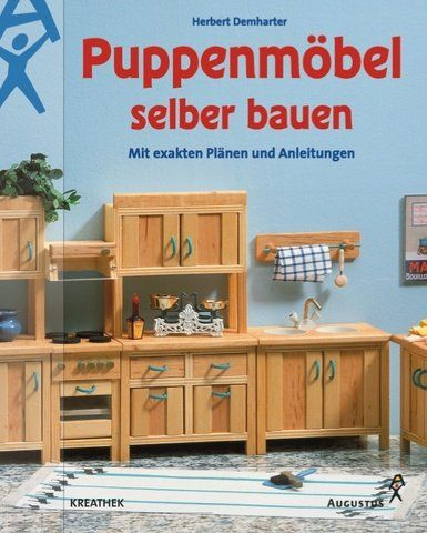 german dollhouse book puppenm bel selber bauen mit. Black Bedroom Furniture Sets. Home Design Ideas