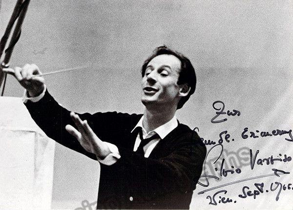 Varviso, Silvio - Signed Photo