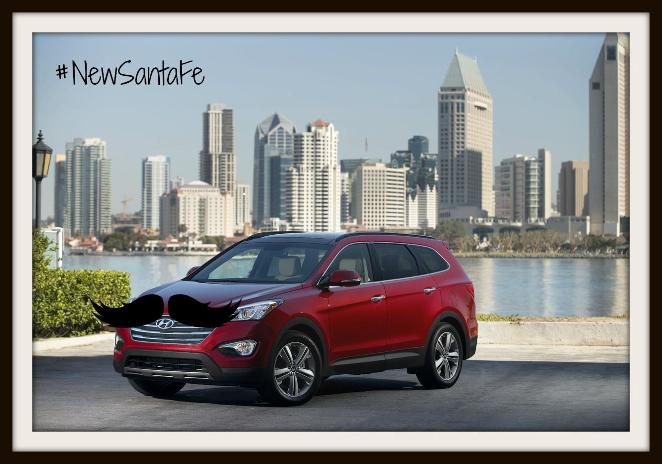 Marvelous Mustaches of San Diego NewSantaFe Hyundai
