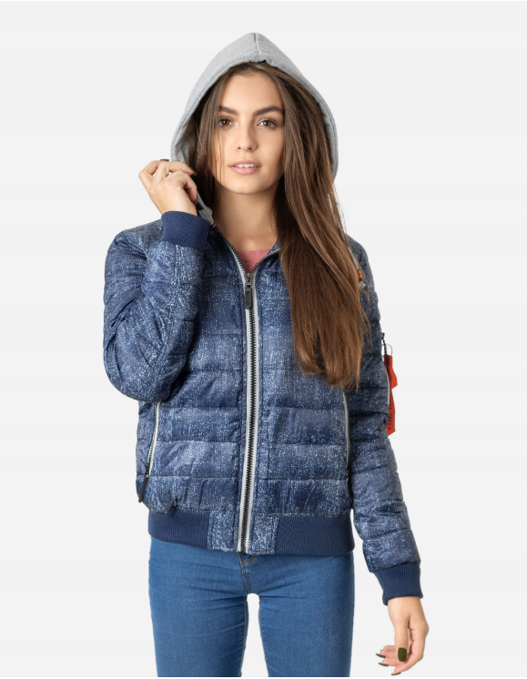Kurtka Bomberka Damska Ocieplana 23360 R Xxl Grana 7625589586 Oficjalne Archiwum Allegro Fashion Bomber Jacket Jackets