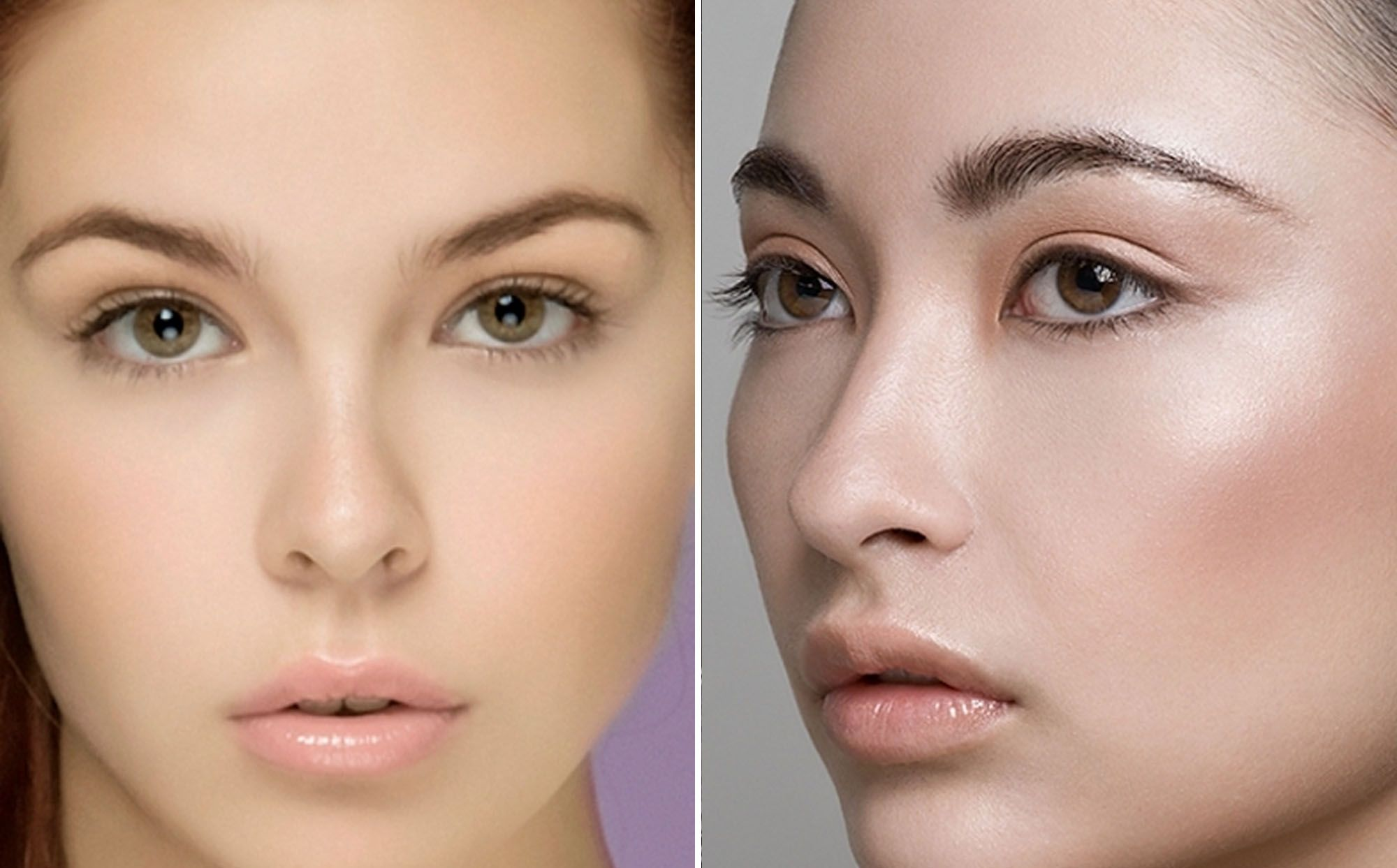 Cute face with natural school makeupg 20001243 faceswoman natural look of school makeup for girls baditri Images