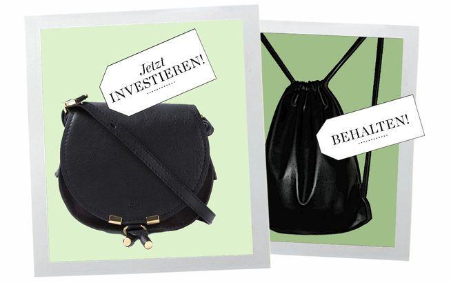 Die Marcy Crossbody Bag von Chloé (links) zählt zu den schönsten Umhängetaschen der Saison.