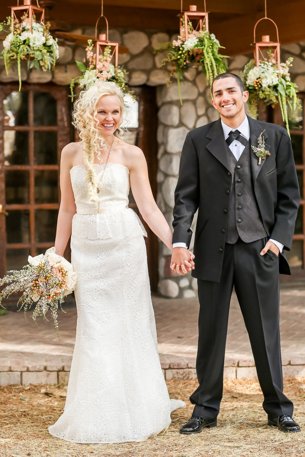 Pretty western wedding inspiration at legends ranch from ann and kam