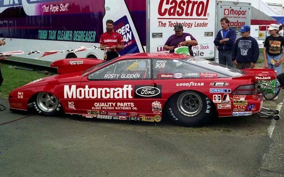 Rusty Glidden Drag Racing Cars Ford Racing Drag Racing