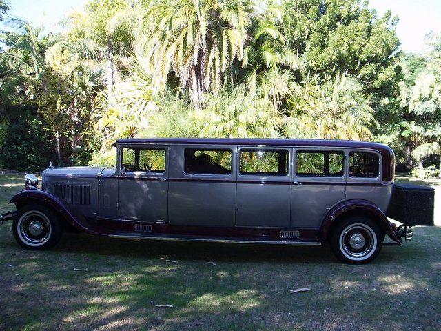7 SEATER 1929 VINTAGE FEDERAL DODGE LIMOUSINE | Wedding ...