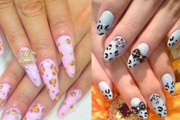 Superb Japanese Nail Art Ideas 2012   Fashions And Lifestyle   Japan Nails 2012