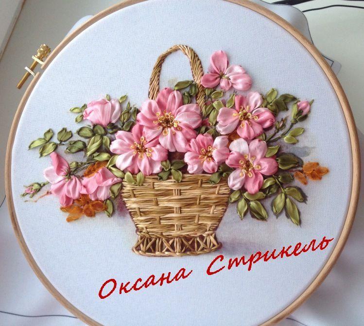 Gallery.ru / Фото #29 - Мои работы (Вышивка лентами ) - ostrikel