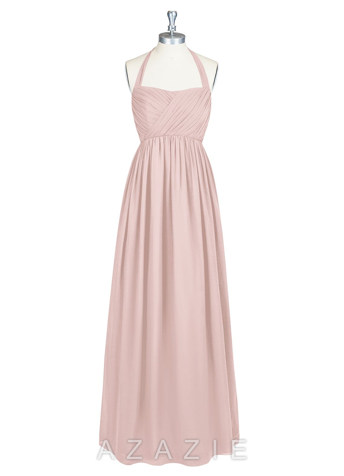 Shop Azazie Bridesmaid Dress - Francesca in Chiffon. Find the perfect made-to-order bridesmaid dresses for your bridal party in your favorite color, style and fabric at Azazie.