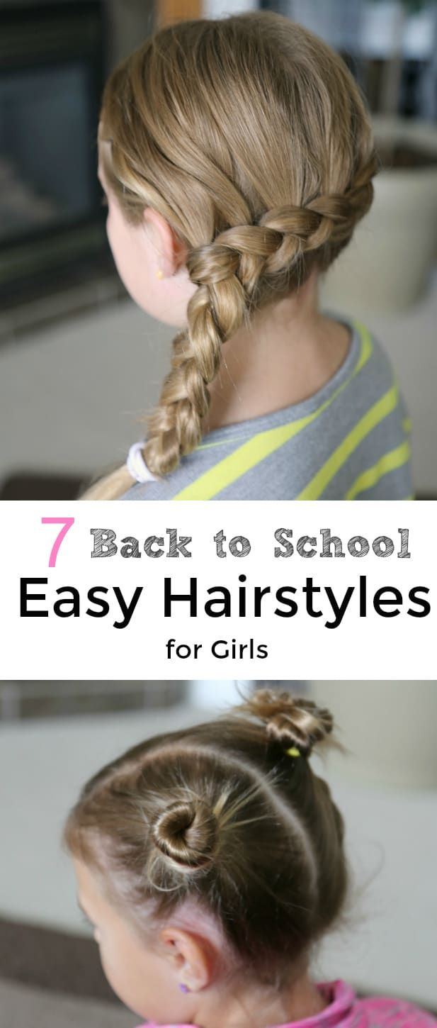 back to school easy hairstyles for girls audra hair pinterest