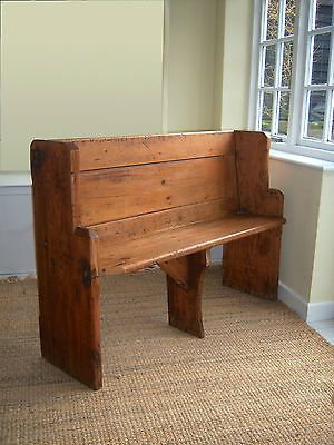 Amazing An Antique Church Pew Ebay Diy Pallet Furniture Dailytribune Chair Design For Home Dailytribuneorg
