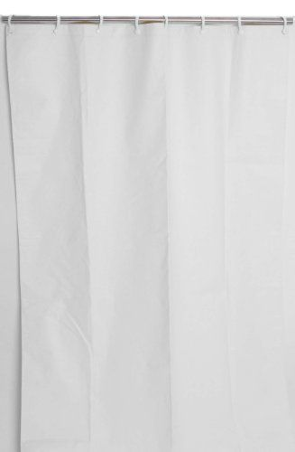 Csi Bathware Cur48x74nh 48inch X 74inch Heavyduty Commercial Shower Curtain White Details Can Be Vinyl Shower Curtains Shower Curtain White Shower Curtain