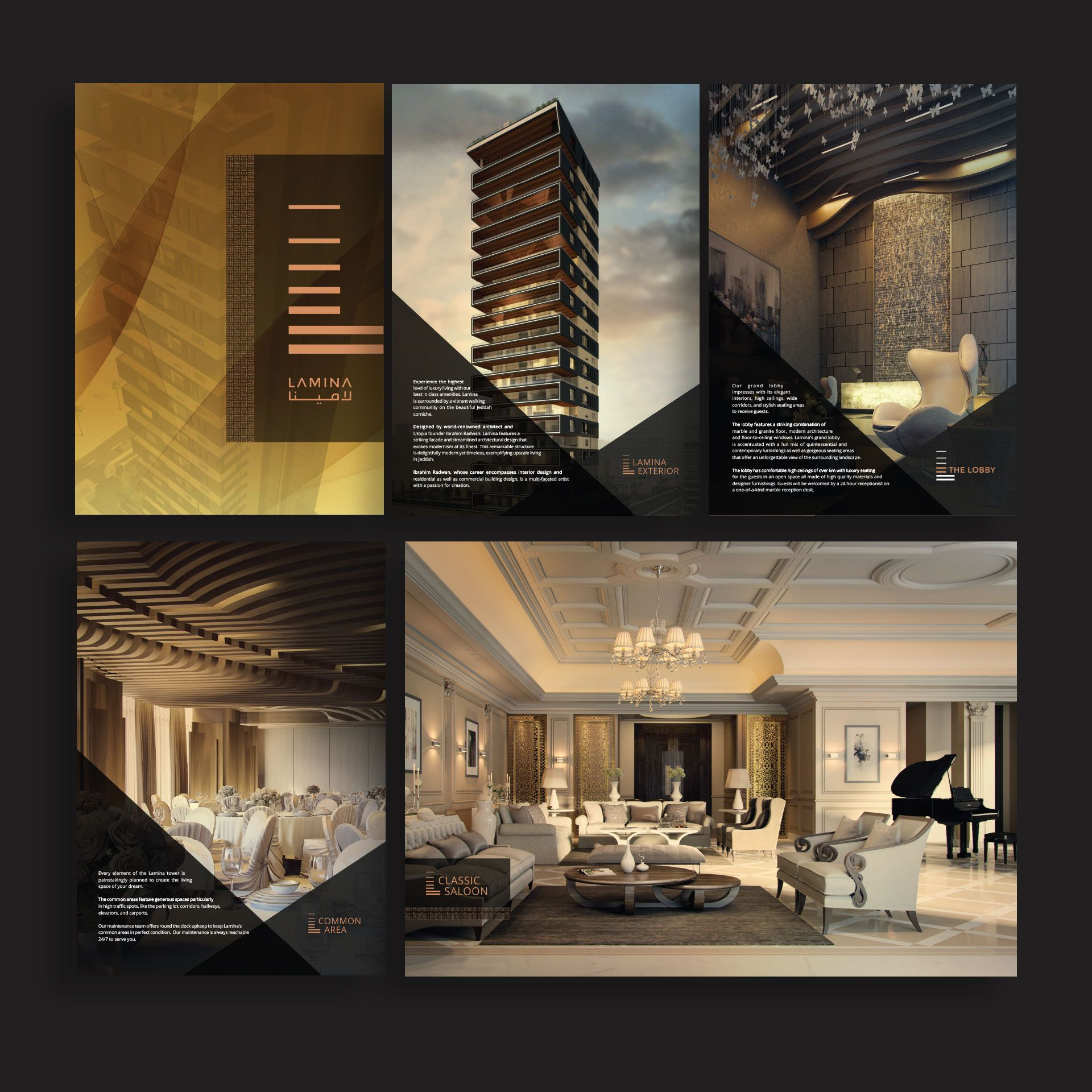 Jeddah Luxury Apartment Branding Website Spellbrand
