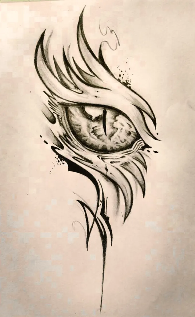 For Only 15 Trudiegabrie Will Create Greats Tribal Tattoo Designs For You Prepare For Good In 2020 Fantasy Tattoos Tribal Tattoo Designs Small Dragon Tattoos