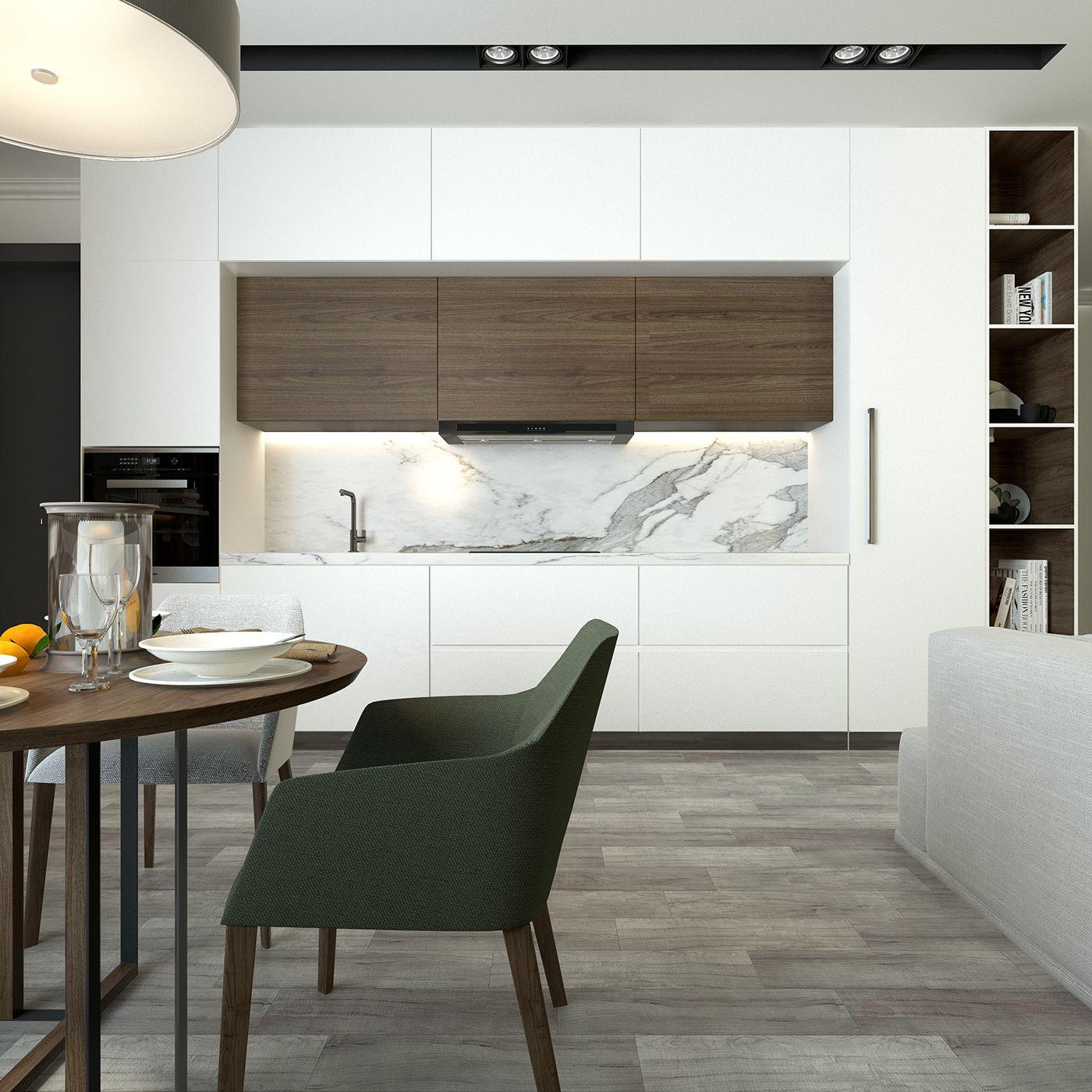 Interior Design.Flat On Behance