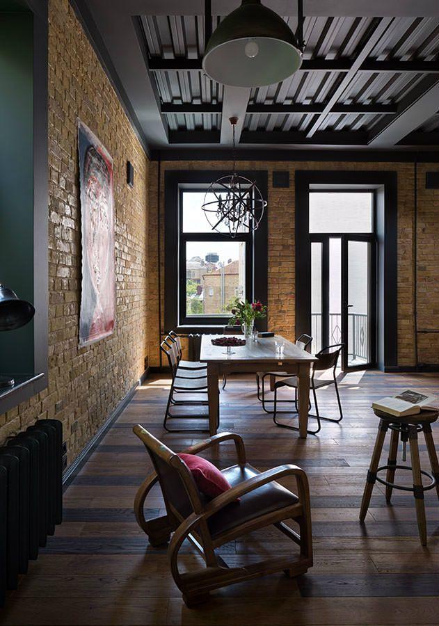 Frisch Und Boho Loft Wohnung Haus Haus In 2018 Pinterest Loft   Eklektische  Wohnung Loft Charakter