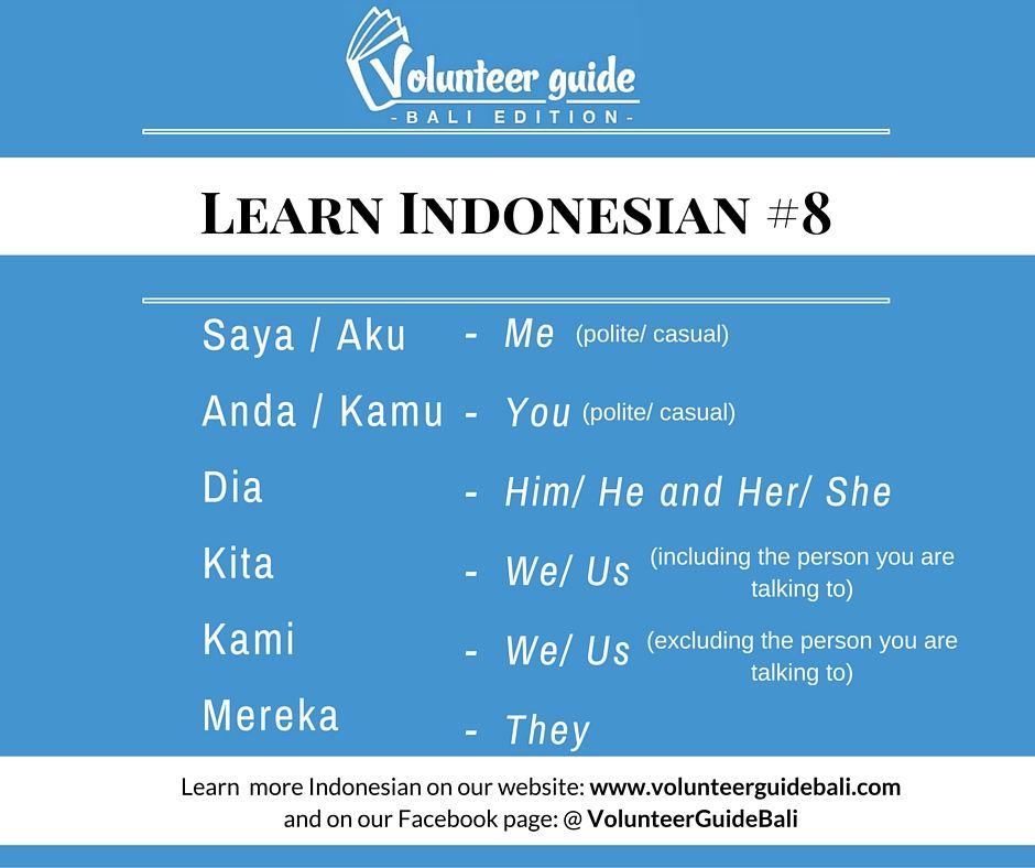 Vocabulary acquisition strategies of indonesian